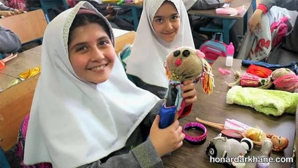 آموزش ساختن عروسک با گونی برای کودکان