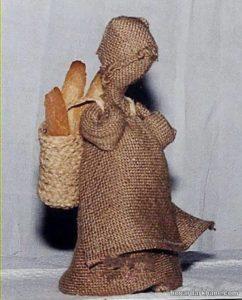 ساخت عروسک با گونی با طرح جذاب
