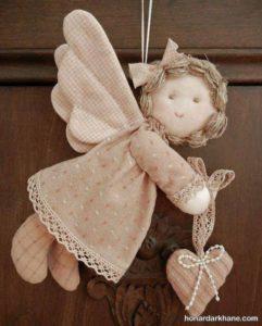 ساخت عروسک با نمد و گونی