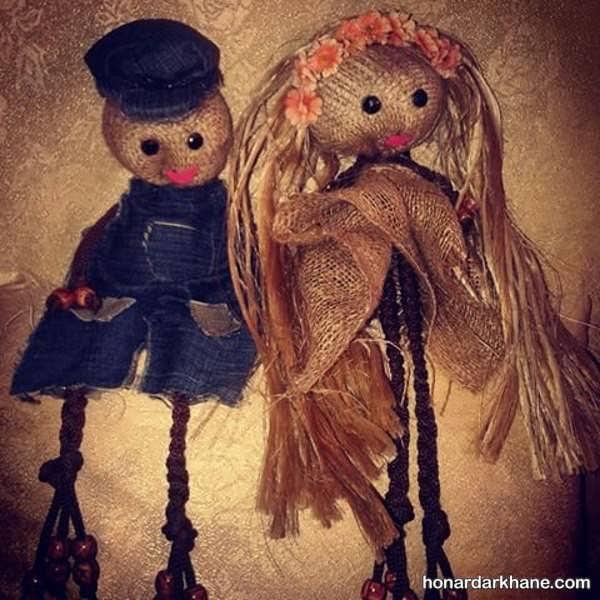 آموزش ساخت عروسک با گونی
