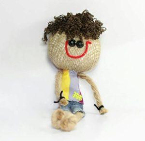 نمونه راحت و جذاب ساخت عروسک با گونی