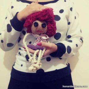 ساخت عروسک با گونی با آموزش آسان