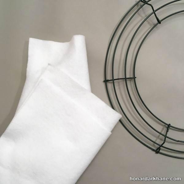 ساخت حلقه در نمدی برای اتاق خواب های منزل با ایده های جدید