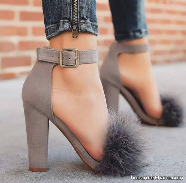مدل کفش مجلسی دخترانه و زنانه با پاشنه کوتاه و بلند
