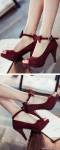 مدل کفش با رنگ خاص مجلسی