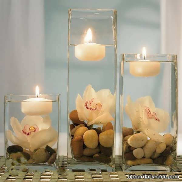 روش خاص تزیین شمع برای هفت سین
