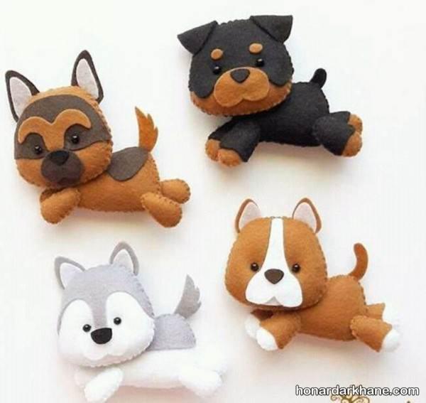 مدل کاردستی سگ