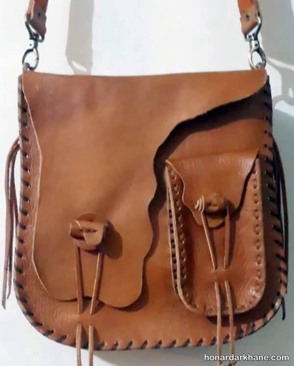 کیف چرم زنانه جدید