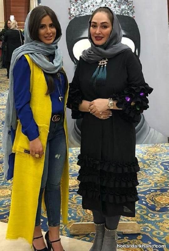 مدل مانتو عید بازیگران مشهور سینما و تلویزیون در نوروز ۹۷