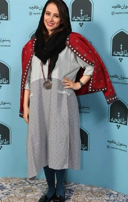 مانتو عید بازیگران زن