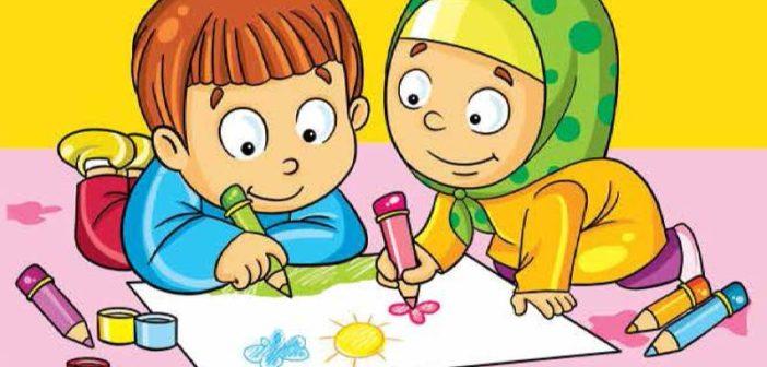 نقاشی فصل بهار برای کودکان و مدل های رنگ آمیزی بهار