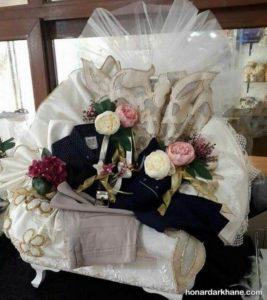 تزیین هدایای عیدی عروس