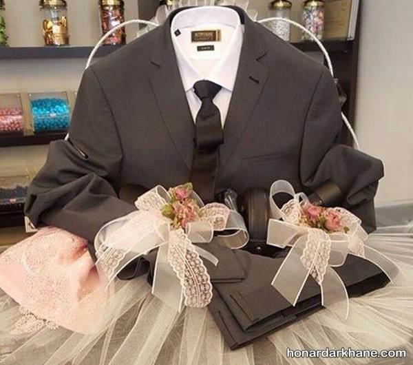 تزیین لباس داماد