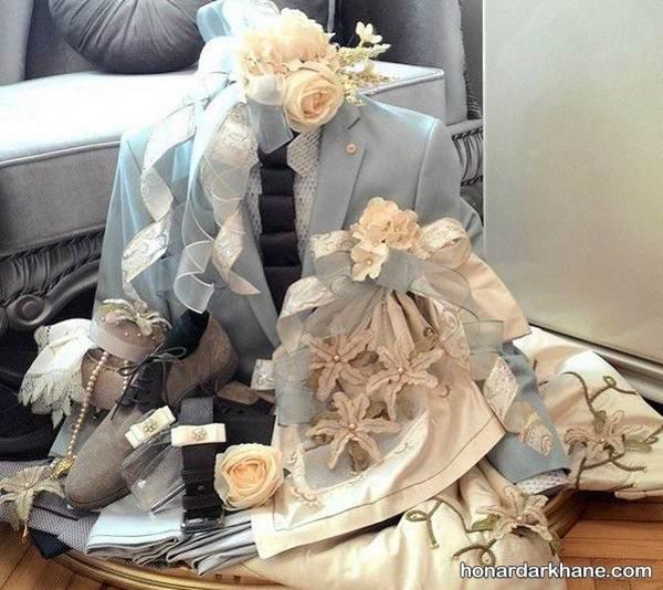 تزیین ز یبای عیدی برای عروس