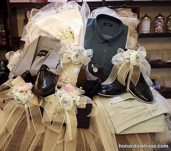 هدایای عیدی عروس تزیین عیدی عروس و داماد با ایده های جدید و شیک برای عید نوروز