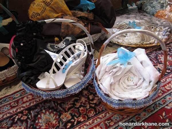 تزیین وسایل برای جشن عیدی