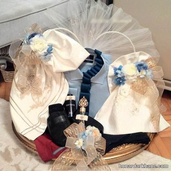 تزیین عیدی عروس جدید و شیک