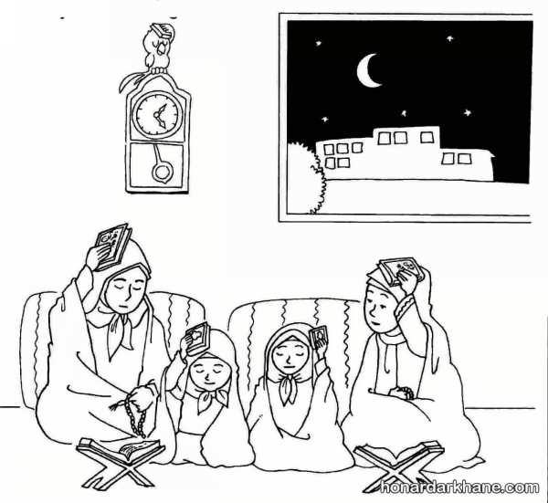 نقاشی شب قدر