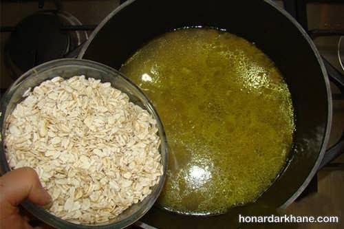 پخت سوپ شیر و قارچ