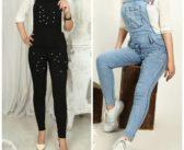 آموزش مروارید دوزی روی شلوار جین و مدل های شلوار مرواریدی جدید