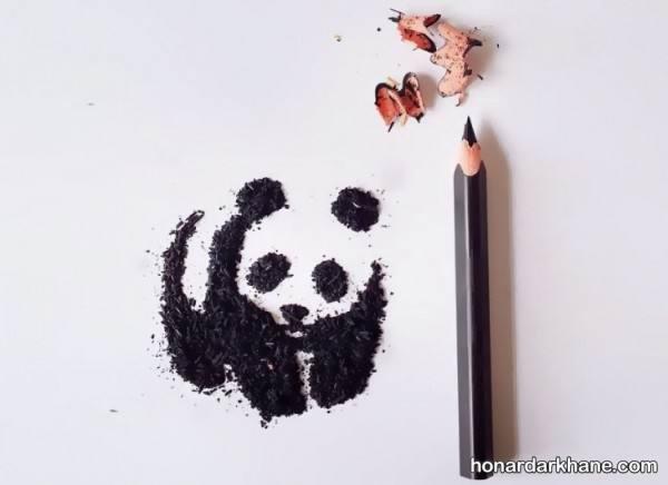 خلاقیت با تراشه مداد