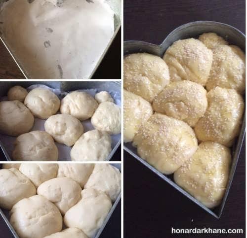 دستور پخت نان شیرمال