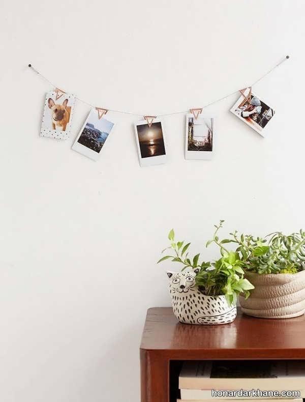 تزیین دیوار های منزل با عکس