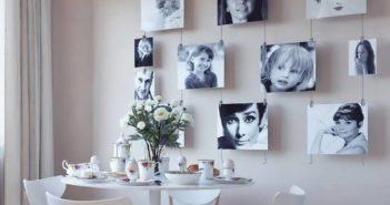 تزیین دیوار با عکس