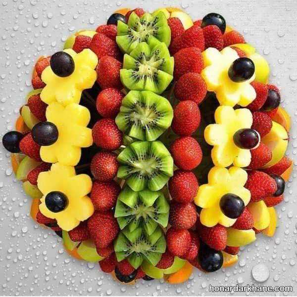 تزیین میوه های تابستانی جدید