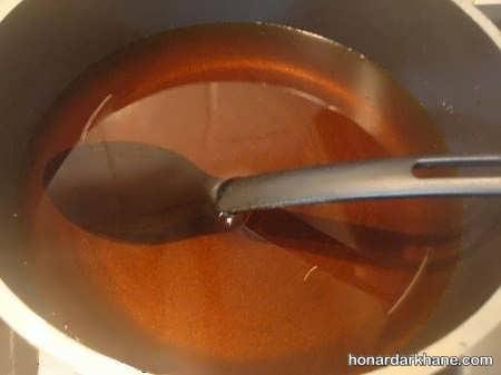 طرز تهیه شربت برای حلوا