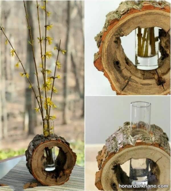 ساخت دکوری چوبی زیبا