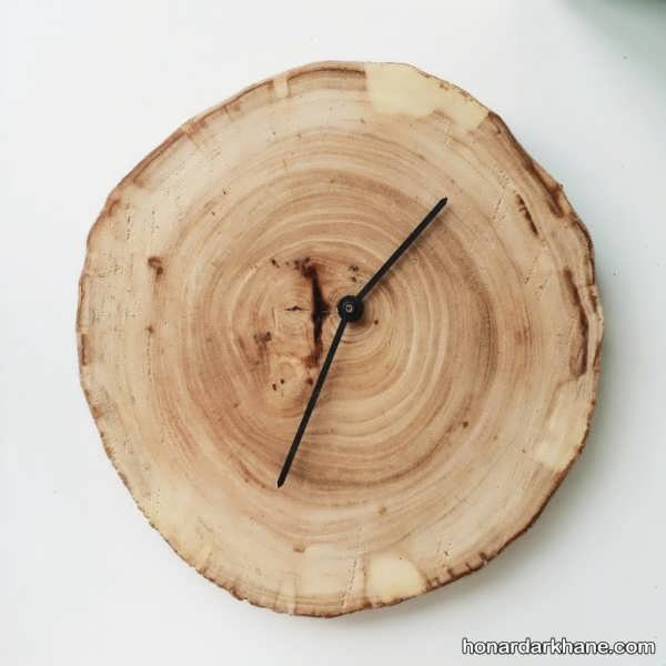 ساخت ساعت چوبی