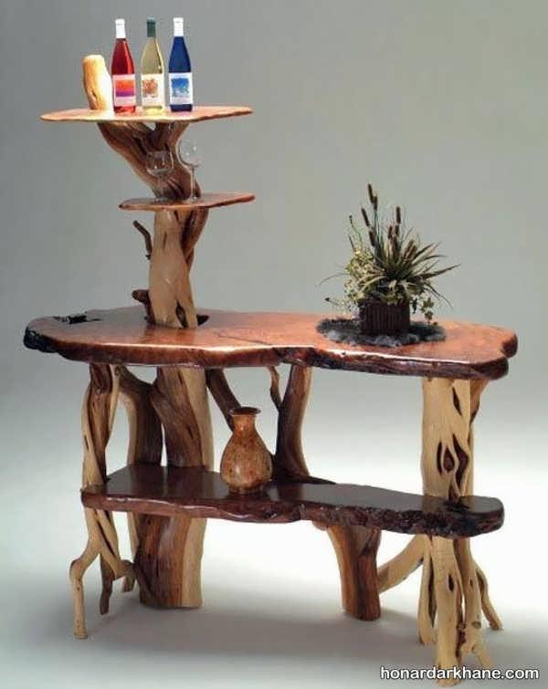 ساخت میز چوبی ساده