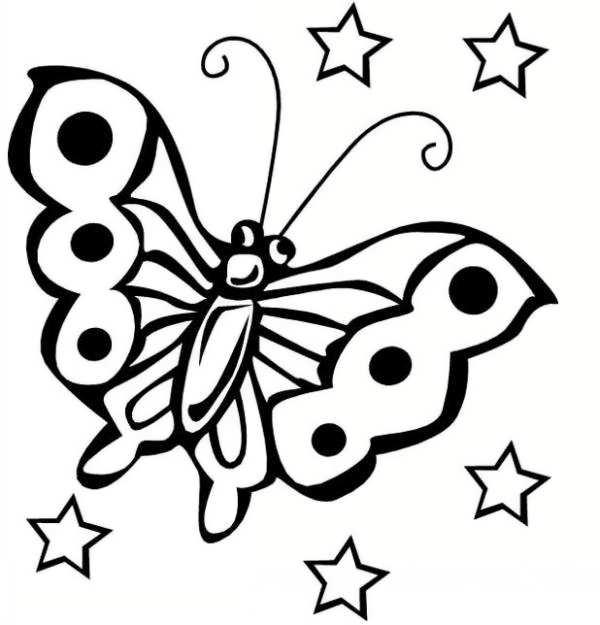 مدل رنگ آمیزی پروانه
