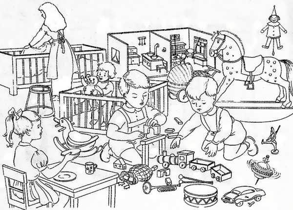 مدل رنگ آمیزی کودکان