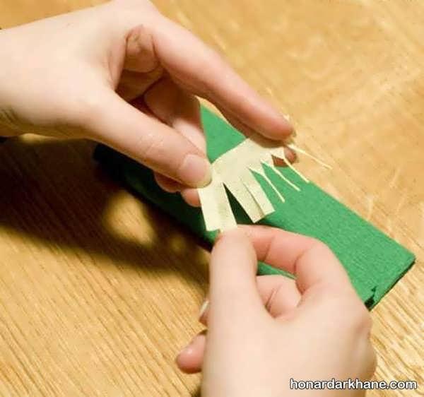گلسازی با کاغذ کشی