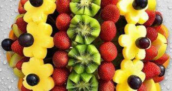 تزیین میوه های تابستانی
