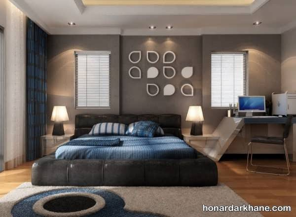 تزین دیوارهای اتاق خواب