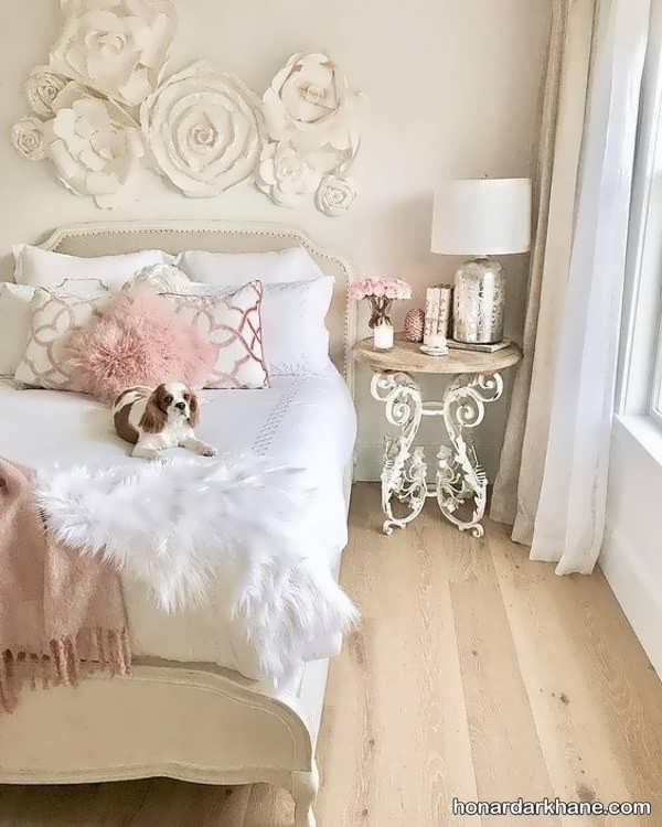 تزیین وسایل اتاق خواب