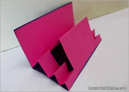 ساختن کارت پستال با مقوا