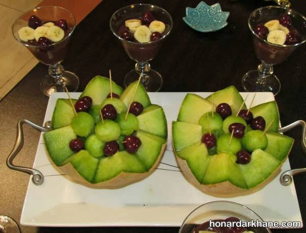 میوه آرایی طالبی