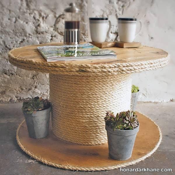 ساخت میز با وسایل ساده