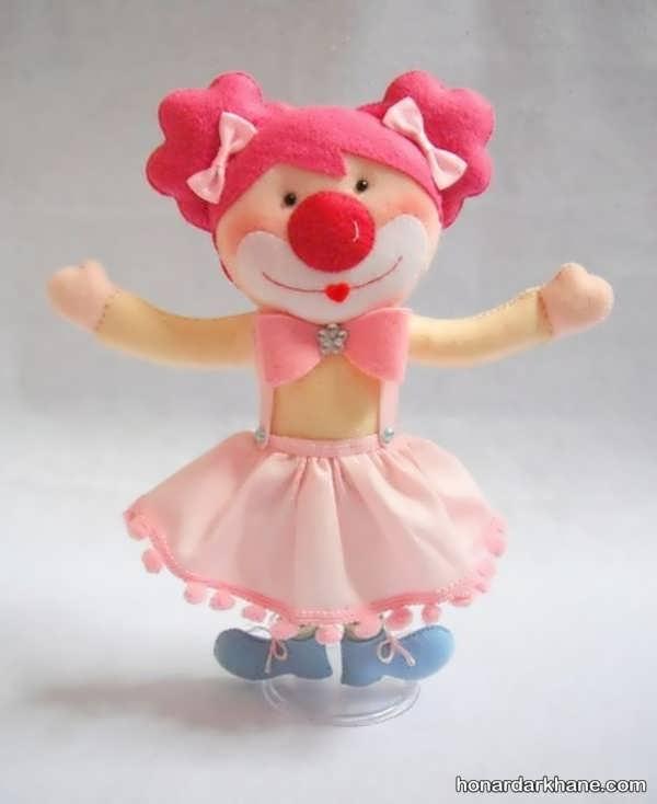 عروسک سازی نمدی
