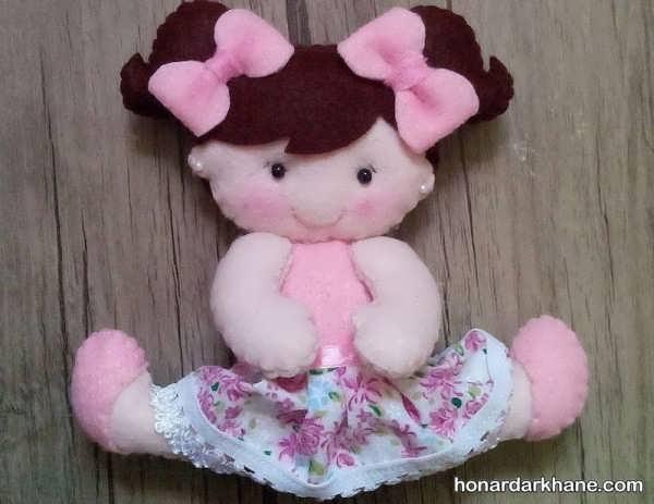عروسک نمدی دختر
