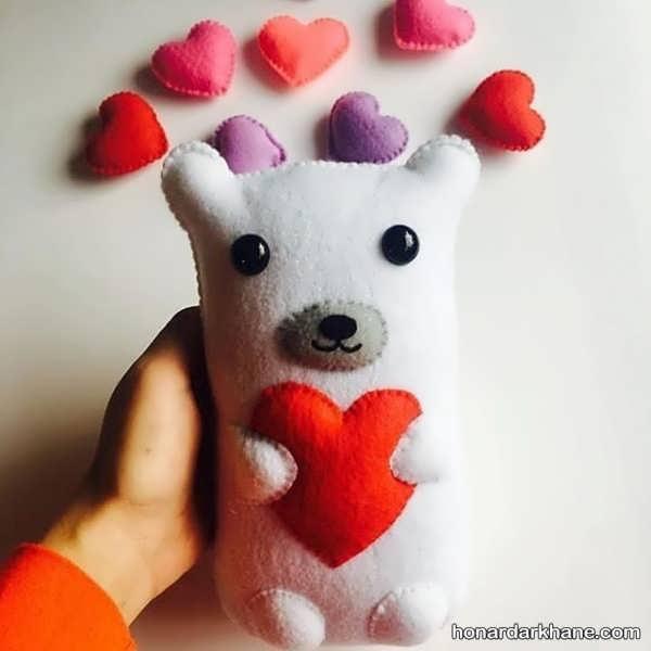 ساخت عروسک حیوانات با نمد