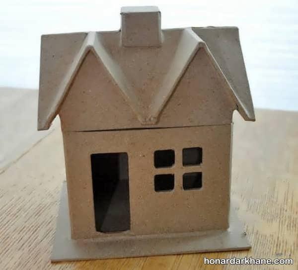 کاردستی خانه برای کودکان