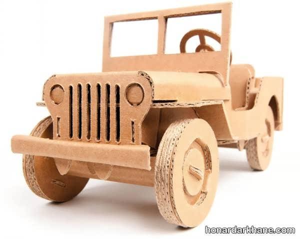ساخت ماشین با کارتن
