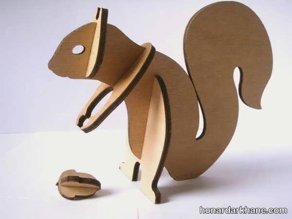 کاردستی حیوانات با کارتن