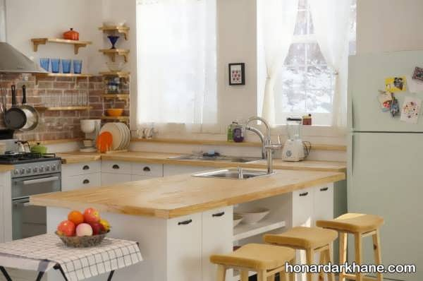 چیدمان جدید آشپزخانه عروس