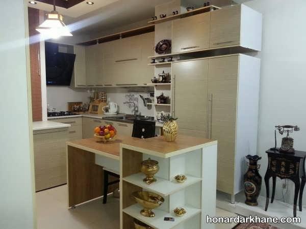 چیدمان آشپزخانه عروس ایرانی